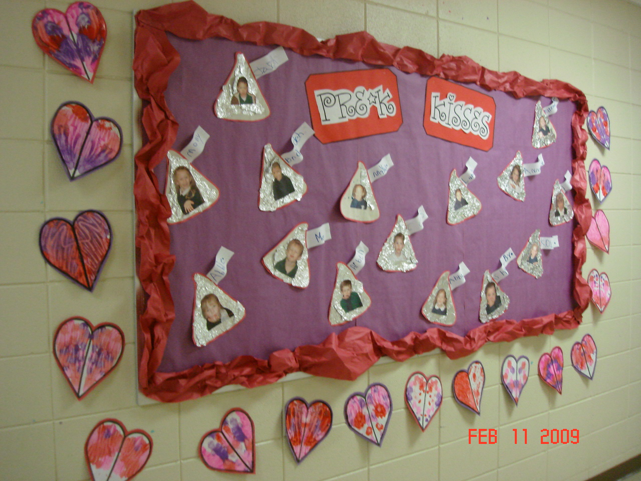 Bulletin boards trendy teacher for Preschool crafts for february