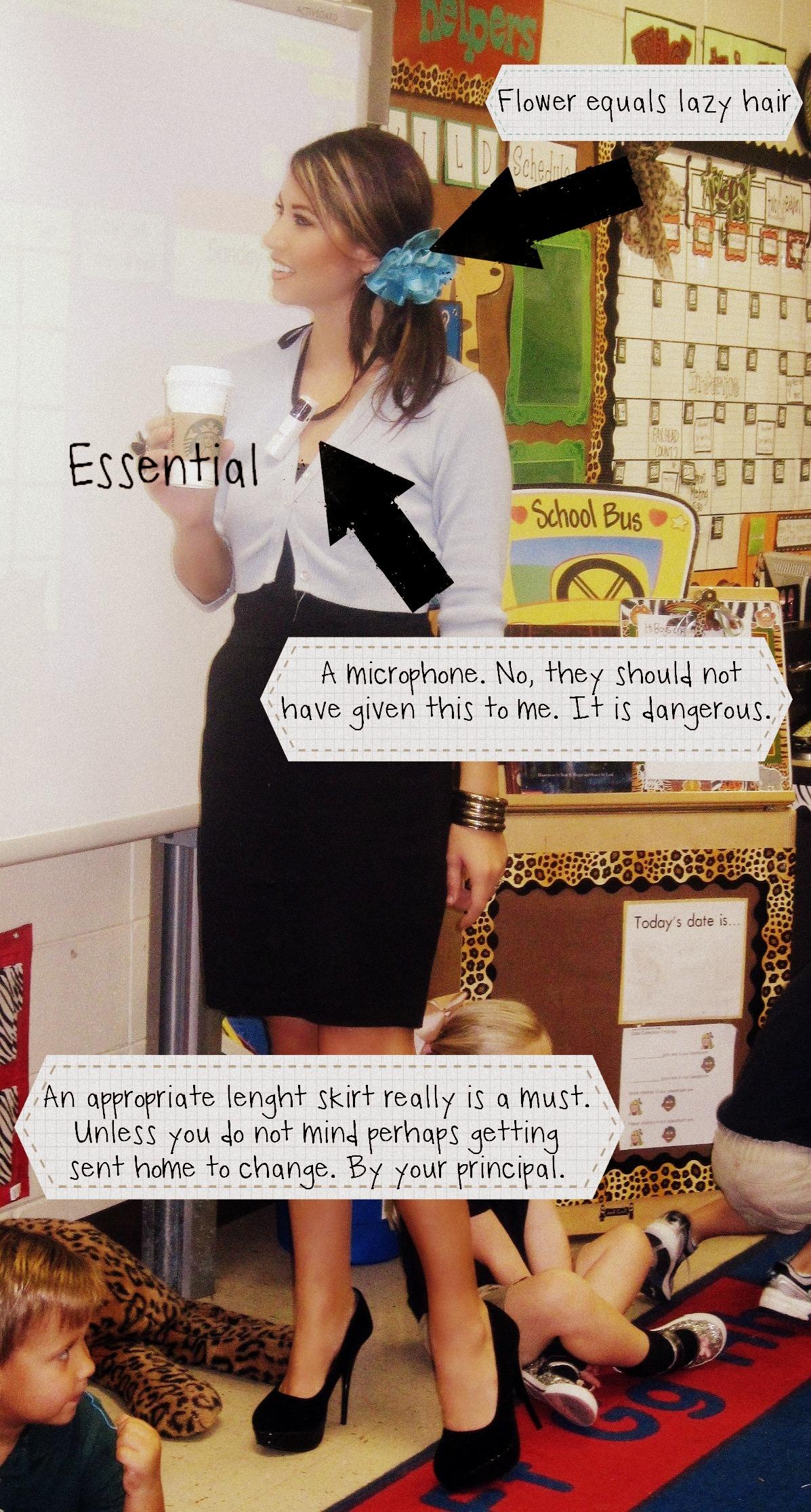 Anatomy Of A Teachers Outfit Trendy Teacher